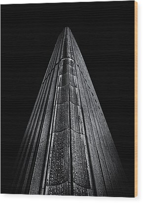 Wood Print featuring the photograph Toronto City Hall No 8 by Brian Carson