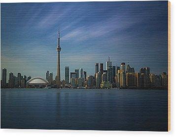 Toronto Cityscape Wood Print