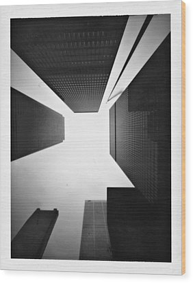 Toronto Wood Print by Luca Baldassari