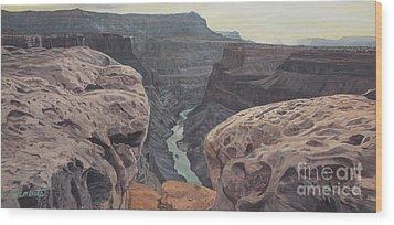 Toroweap Overlook Grand Canyon North Rim Wood Print