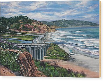 Torrey's Bridge Wood Print by Lisa Reinhardt