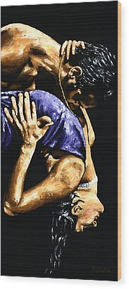 Torrid Tango Wood Print by Richard Young