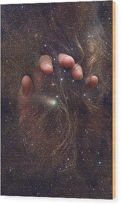 Touching The Stars Wood Print
