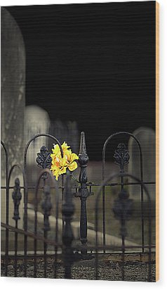 Wood Print featuring the photograph Toujours Souvenu by Marion Cullen