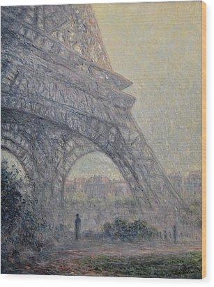 Paris , Tour De Eiffel  Wood Print