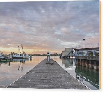 Wood Print featuring the photograph Toward The Dusk by Greg Nyquist