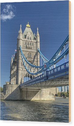 Tower Bridge 2 Wood Print by Chris Day