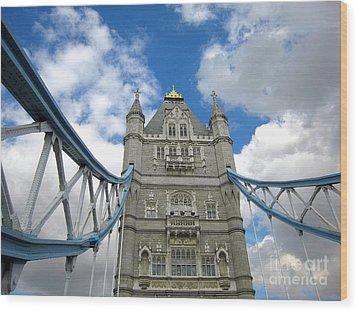 Tower Bridge 2 Wood Print by Madeline Ellis