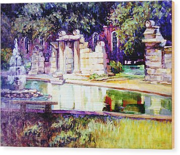 Tower Grove Park Wood Print by Stan Esson