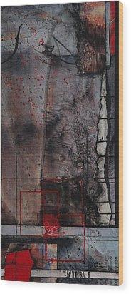 Towering Winds Wood Print
