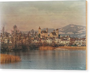 Wood Print featuring the photograph Town Of Roses by Hanny Heim