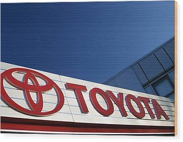 Toyota 8 Wood Print by Jez C Self