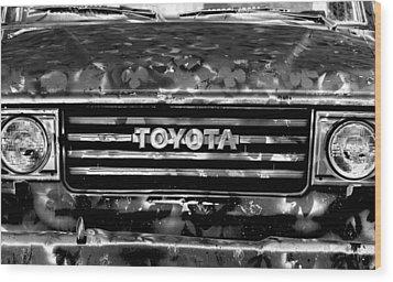 Toyota Truck Wood Print by Lyle  Huisken