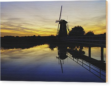 Traditional Dutch Wood Print by Chad Dutson