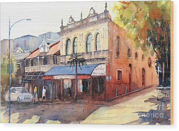 Traditional Music Hall, Brisbane Wood Print