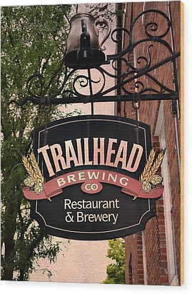Trailhead Brewing Company Wood Print