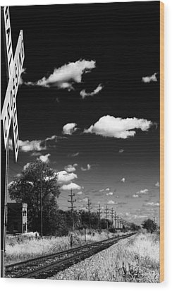 Train Station Wood Print by Off The Beaten Path Photography - Andrew Alexander
