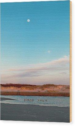 Tranquil Heaven Wood Print by Betsy Knapp