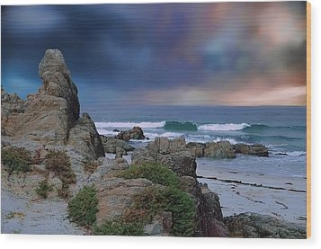 Wood Print featuring the photograph Tranquil Sea by Renee Hardison