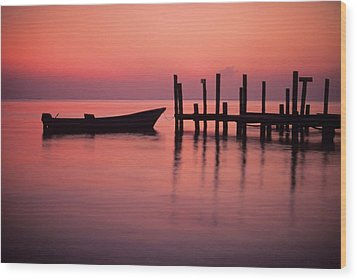 Tranquility Wood Print by Don Kreuter
