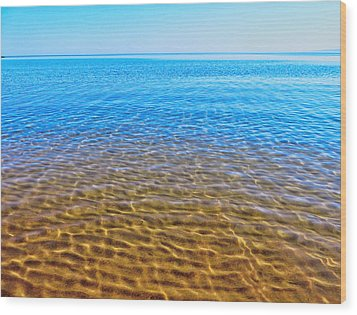 Wood Print featuring the photograph Tranquility by Kathleen Sartoris