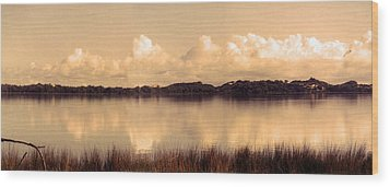 Tranquility Wood Print by Kelly Jones