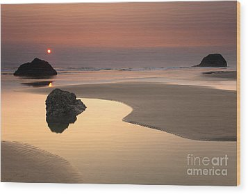 Tranquility Wood Print by Mike  Dawson