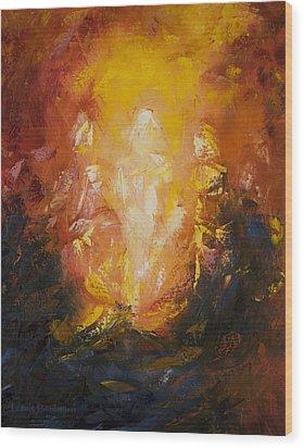 Transfiguration Wood Print by Lewis Bowman