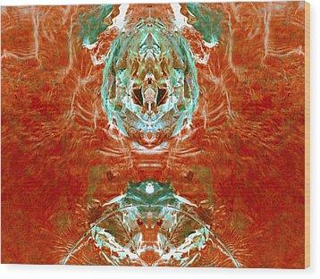 Transitioning Flow Wood Print