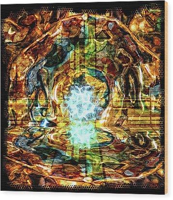 Transmutation Wood Print