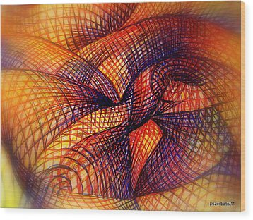 Transmutation Wood Print by Paulo Zerbato