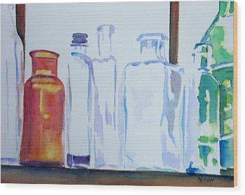 Transparencies Wood Print by Marsha Elliott