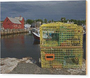 Traps By Motif No. 1 Wood Print by Robert Pilkington