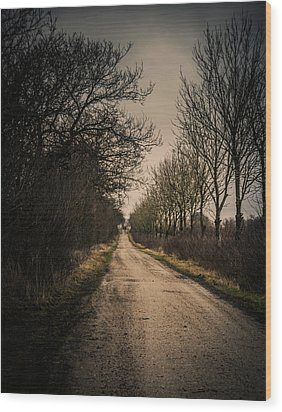 Wood Print featuring the photograph Treadmill by Odd Jeppesen