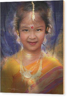 Treasure Of South Asia Wood Print by Bob Salo