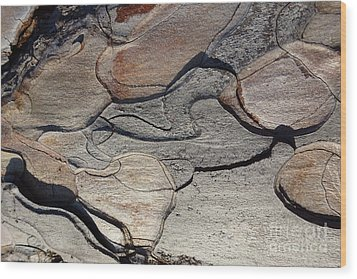 Wood Print featuring the photograph Tree Bark 2 by Jean Bernard Roussilhe