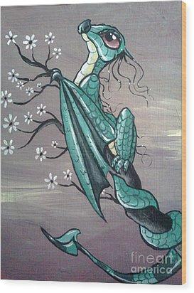 Tree Dragon II Wood Print