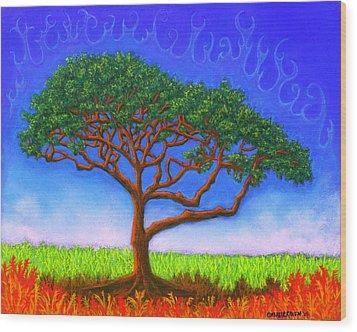 Tree Of Life 01 Wood Print