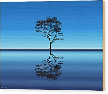 Wood Print featuring the photograph Tree Of Life by Bernd Hau