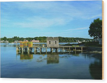 Tremont, Maine No. 23 Wood Print