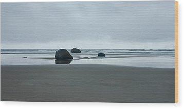 Tres Rocas Wood Print