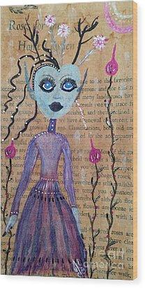 Trillium Wood Print by Julie Engelhardt