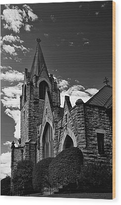 Trinity Church Wood Print