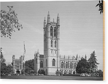 Trinity College Chapel Wood Print by University Icons