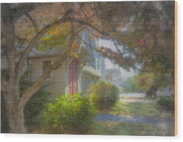 Trinity Episcopal Church, Bridgewater, Massachusetts Wood Print