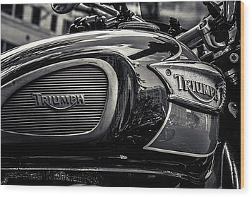 Triumph  Wood Print by Off The Beaten Path Photography - Andrew Alexander