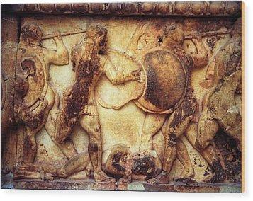Trojan War Wood Print by Andonis Katanos