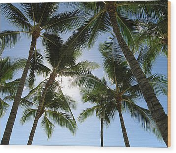 Tropical Mood Wood Print