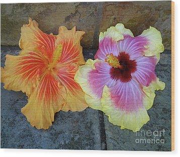 Tropical Pair Wood Print