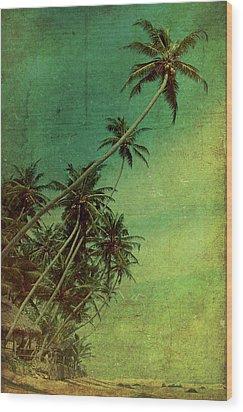 Tropical Vestige Wood Print